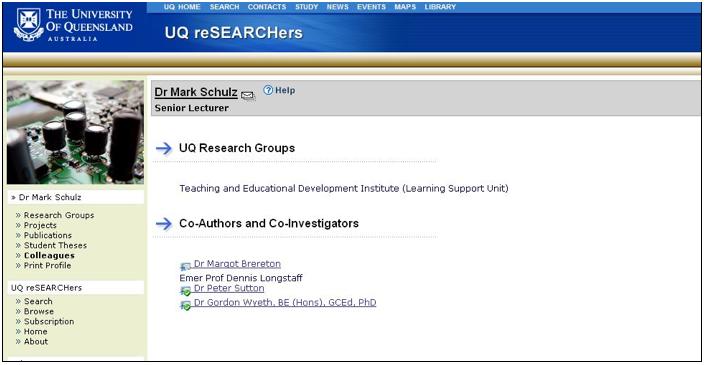 thesis websites